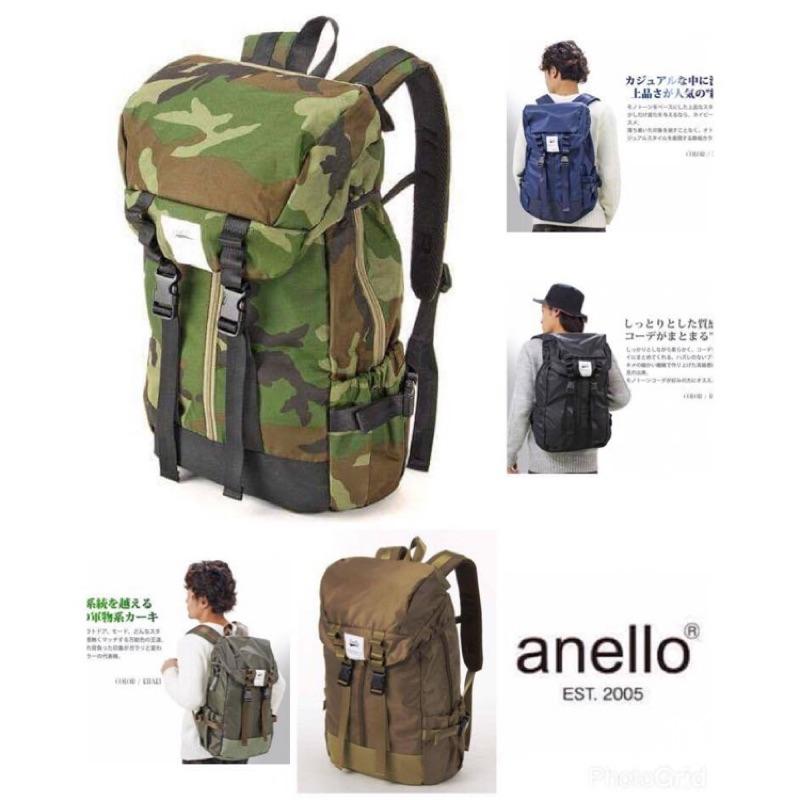 anello 尼龍後背包登山包 正品同步爆款書包電腦包旅行包輕量款超大容量男女 款
