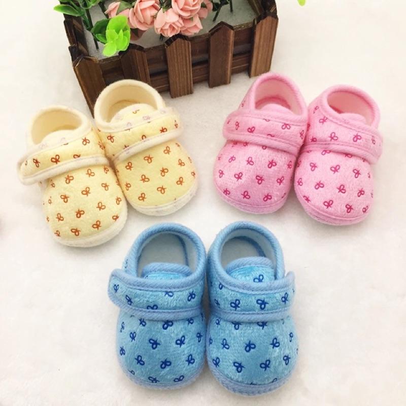 寶寶學步鞋防滑軟底棉鞋嬰兒鞋子初生nb 新生兒10 5 11 11 5 嬰兒鞋