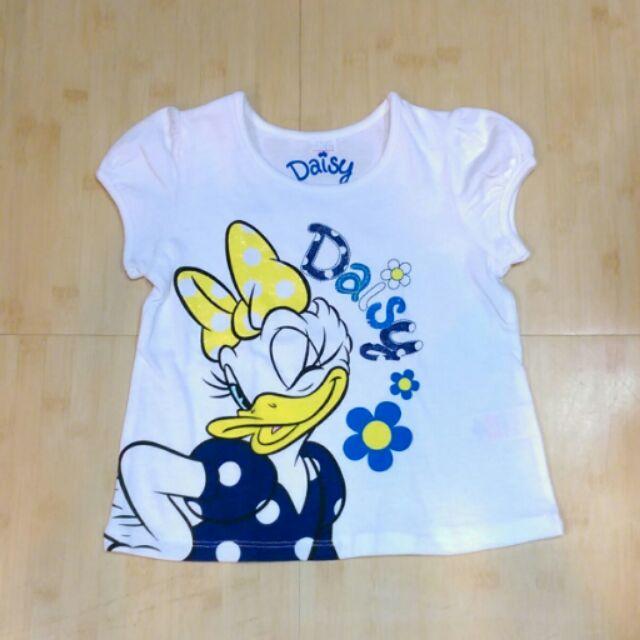 嗨寶貝  迪士尼黛西Daisy 女童純棉短袖上衣