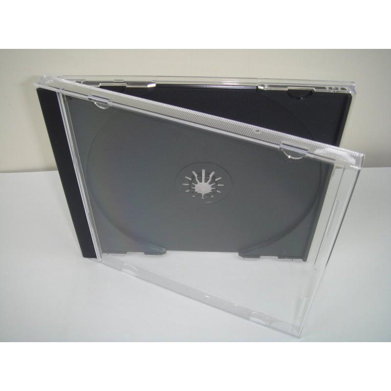 ~臺灣 ~10mm jewel case 黑色PS 壓克力CD 盒DVD 盒光碟盒CD 殼