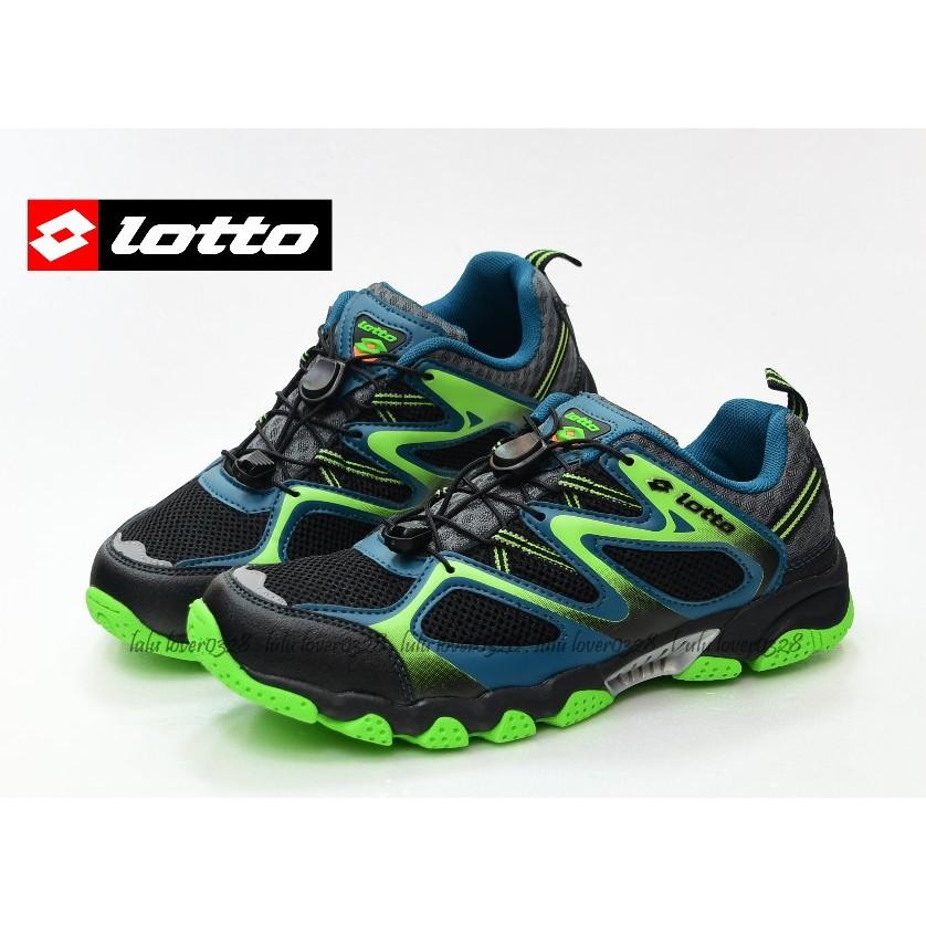 LOTTO 義大利男 水陸車鞋III 黑綠 1280 款請先  中心款