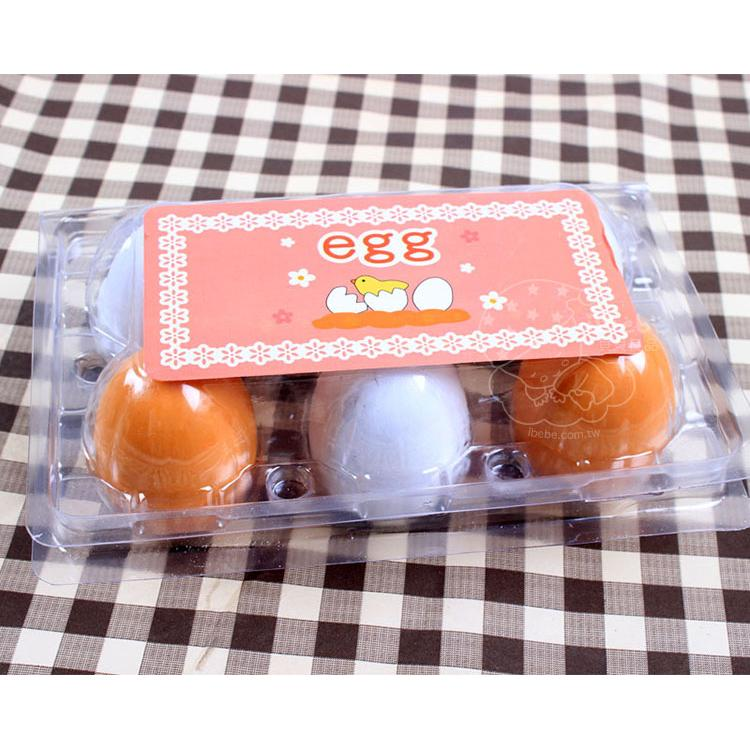 mother garden 同款木製野草莓系列雙色雞蛋盒裝6 入仿真扮家家酒iBebe 貝