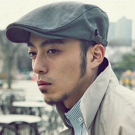 世界 款純色舒適完美版型側邊皮帶扣調整帶鴨舌帽小偷帽報童帽八角帽貝雷帽K515
