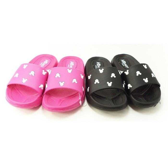 童鞋 Disney 迪士尼輕量米奇繽紛拖鞋童鞋專櫃正品454772 只剩粉色27 28