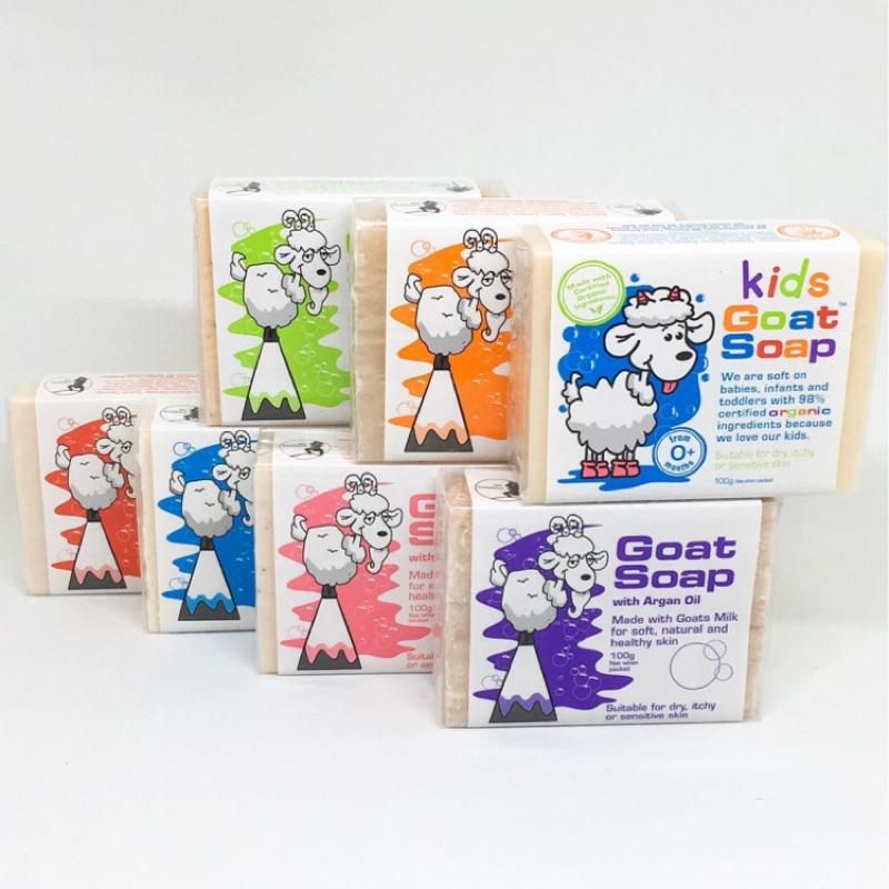 悠西將 澳洲Goat Soap 有機天然山羊奶皂 皂有機天然嬰幼兒童澳洲羊奶皂羊奶皂