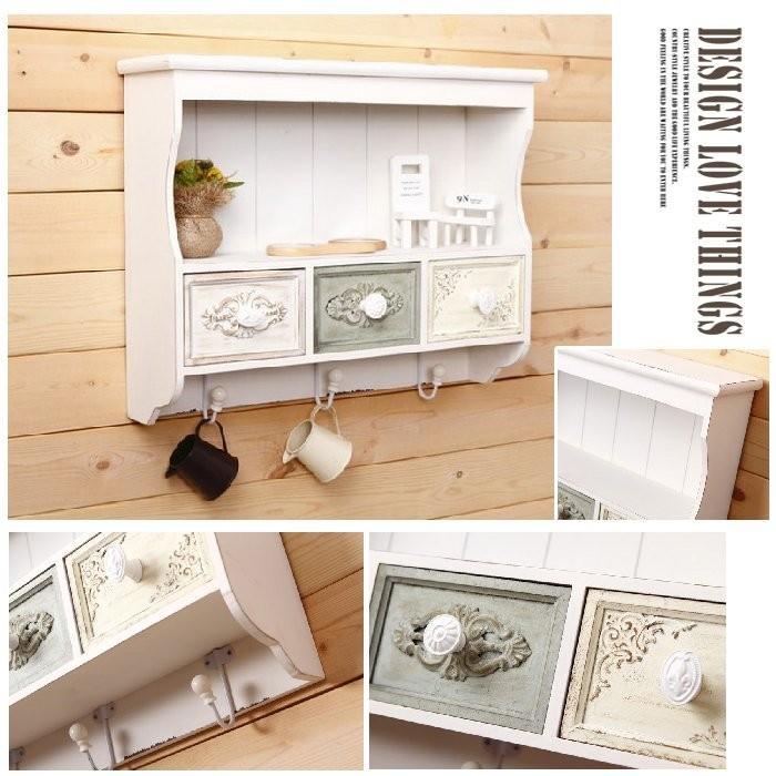 歐式木質櫥櫃家居裝飾吊櫃掛鉤收納櫃抽屜櫃子置物架櫥櫃置物櫃木櫃~BZC 70 ~