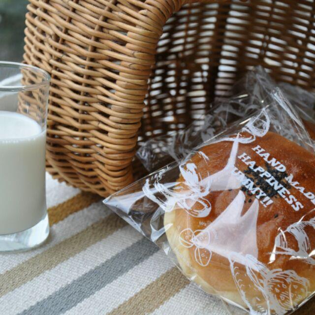 ~栗子太太~~白色手繪下午茶~OPP 自黏麵包袋餅乾袋西點袋點心袋糖果袋烘培包裝袋