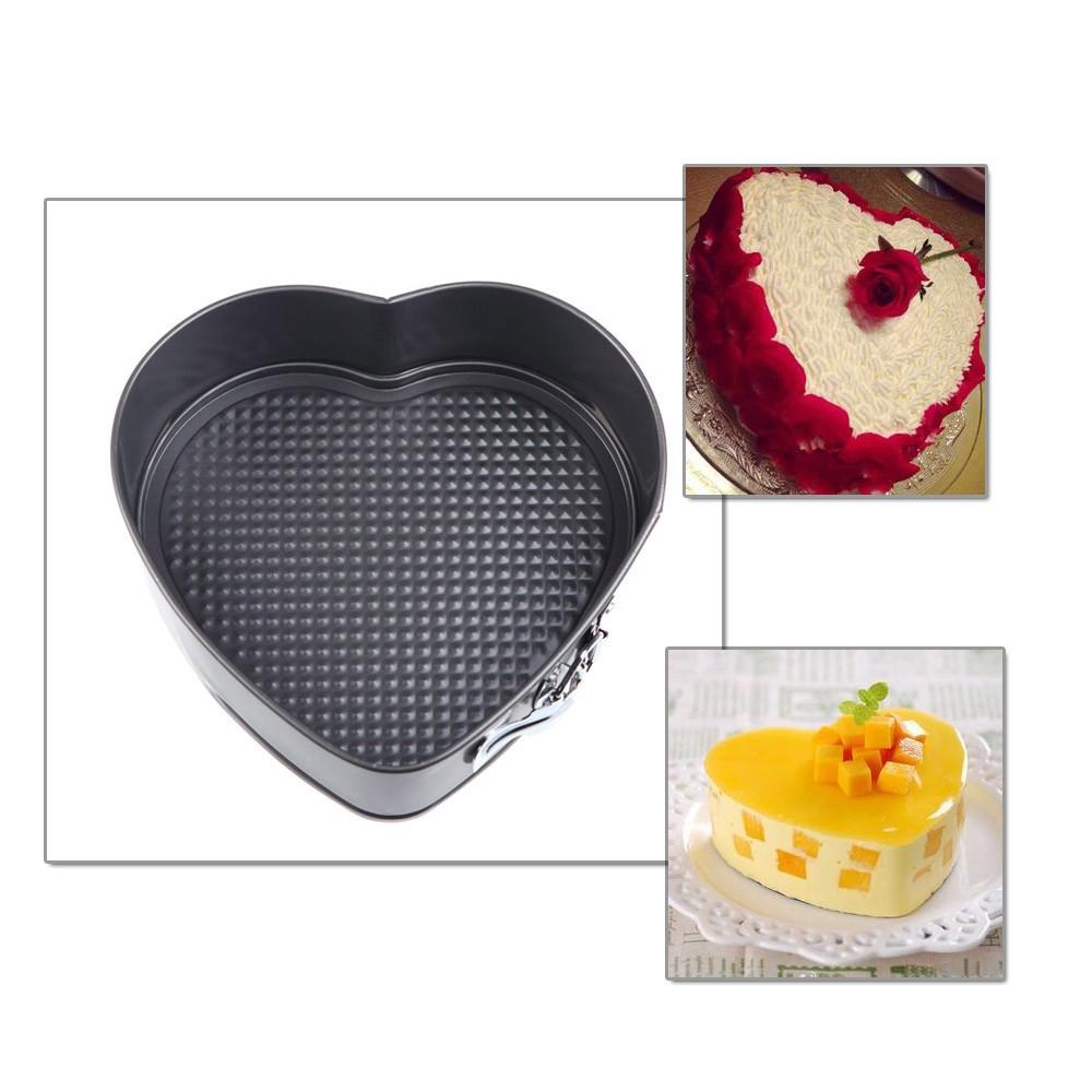 ~ ~三個烤盤蛋糕烘烤模具模具烤盤可拆卸底部與一套
