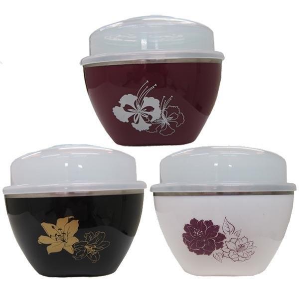 牛頭牌彩晶碗雙層隔熱碗泡麵碗兒童碗蓋子可做料理碗、保鮮碗