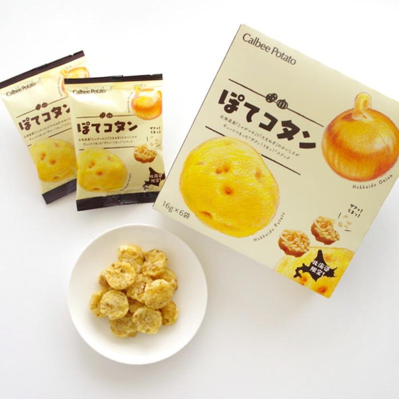 (☀️ )北海道新推出Calbee Potato 洋蔥薯塊薯塊一族