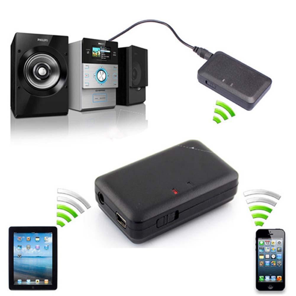 3 5 毫米無線藍牙音樂A2DP 立體聲HiFi 音頻適配器接收器