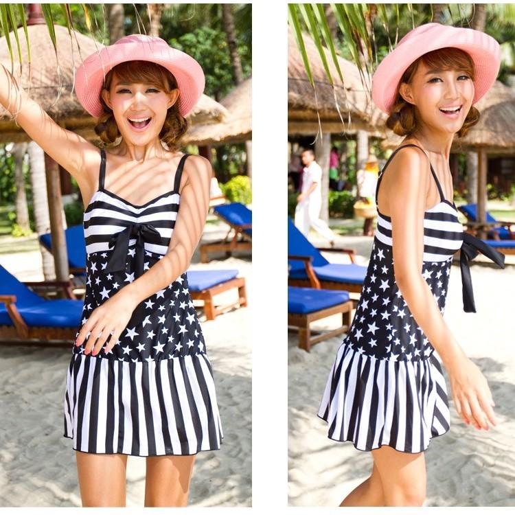 水之舞YL26011356 連身裙式泳衣泳裝 399 價169 溫泉一件式MLXL