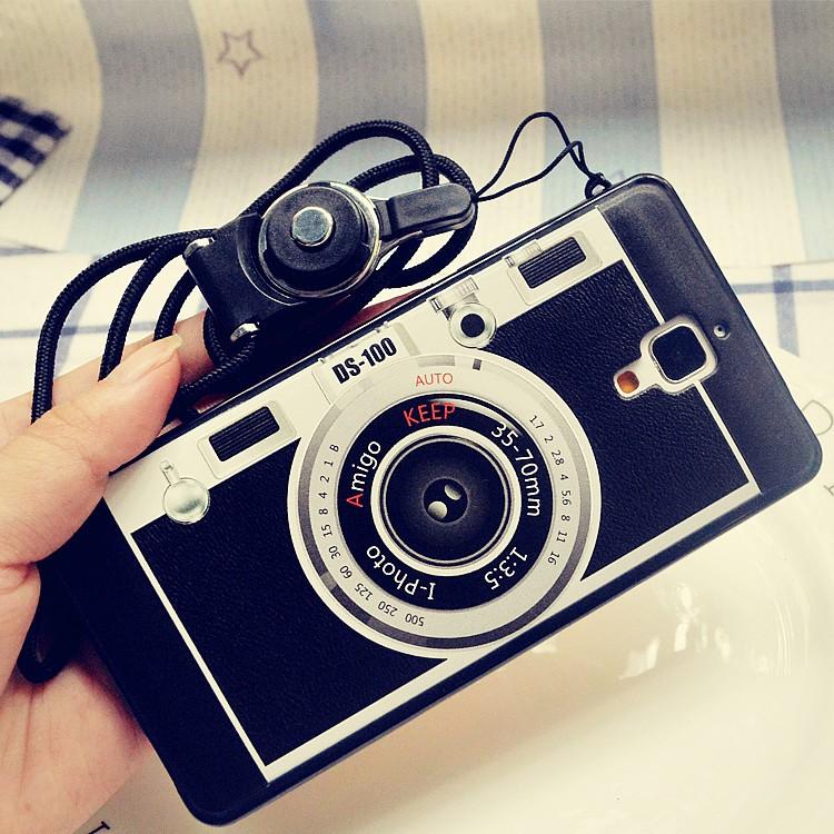 小米4C 3 照相機手機殼小米5 殼紅米note2 3 掛繩硅膠小米note 保護套