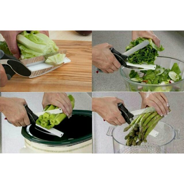 便利智慧剪一支120 元剪刀砧板二合一省去洗砧板的麻煩