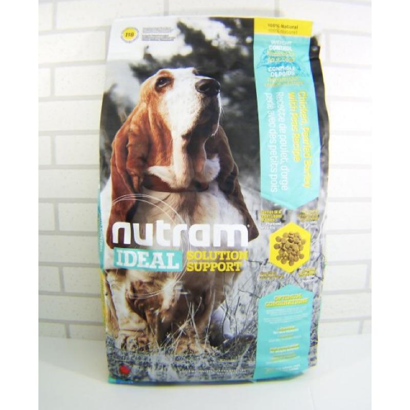 Nutram 紐頓I18 體重控制犬雞肉碗豆2 72kg 13 6KG