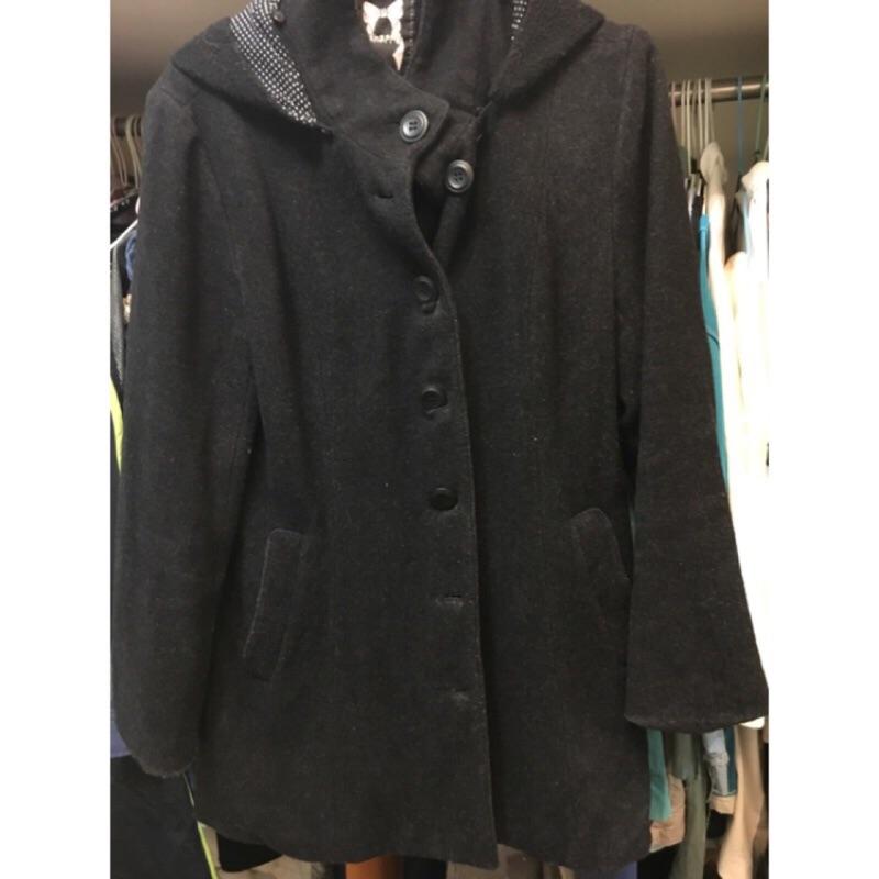 品牌:8happy 尺寸:M 款式:羊毛大衣外套新舊: 售價:200