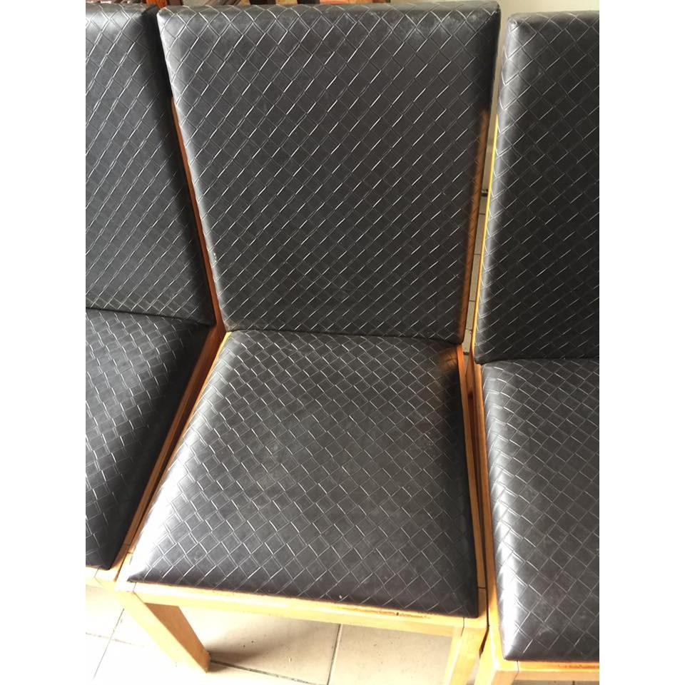 皮面實木餐椅課桌椅大學椅會議椅洽談桌椅書桌椅排椅休閒椅會客椅洽談椅咖啡椅A984 ~晶選