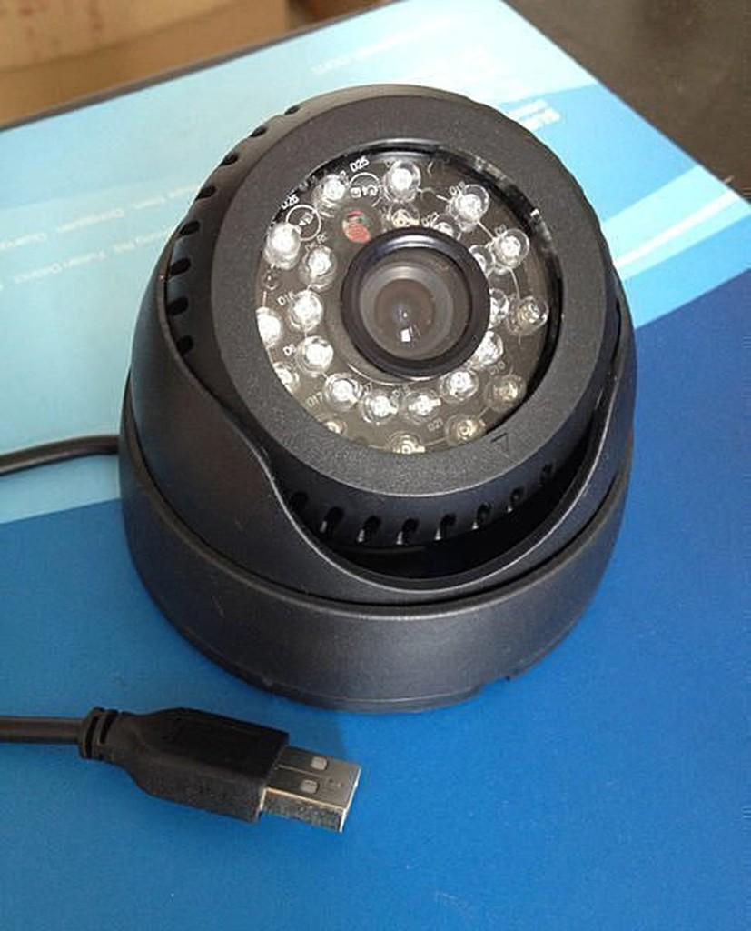 免主機免傳輸線、循環錄影紅外線夜視安防監視器攝影機獨立插卡式監視器