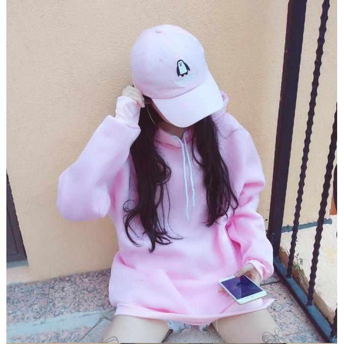帽t ~6615 ~情侶裝 糖果色學院風寬鬆套頭大學T 恤衛衣圓領長袖刷毛T BF 素面抽