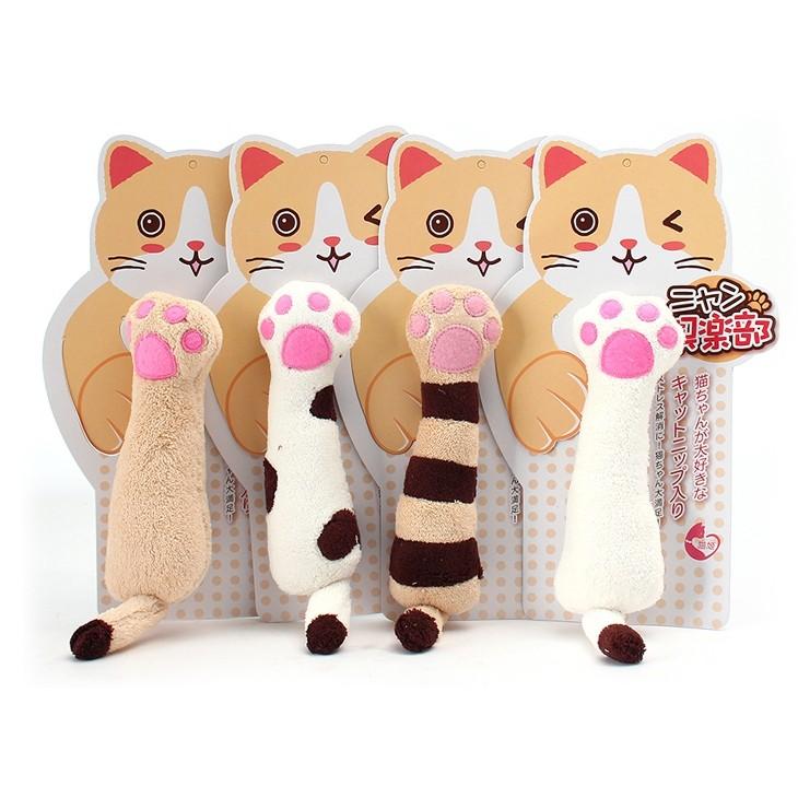 kojima 貓姬系列貓掌玩具貓草玩具貓草包 響紙貓玩具