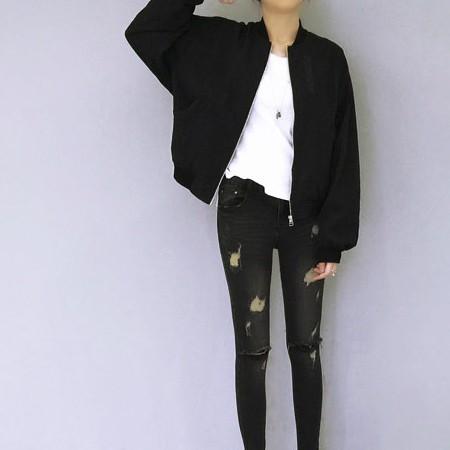 ~3741 ~~ 預~飛行外套 薄版飛行夾克外套~LuvGirl 愛女孩