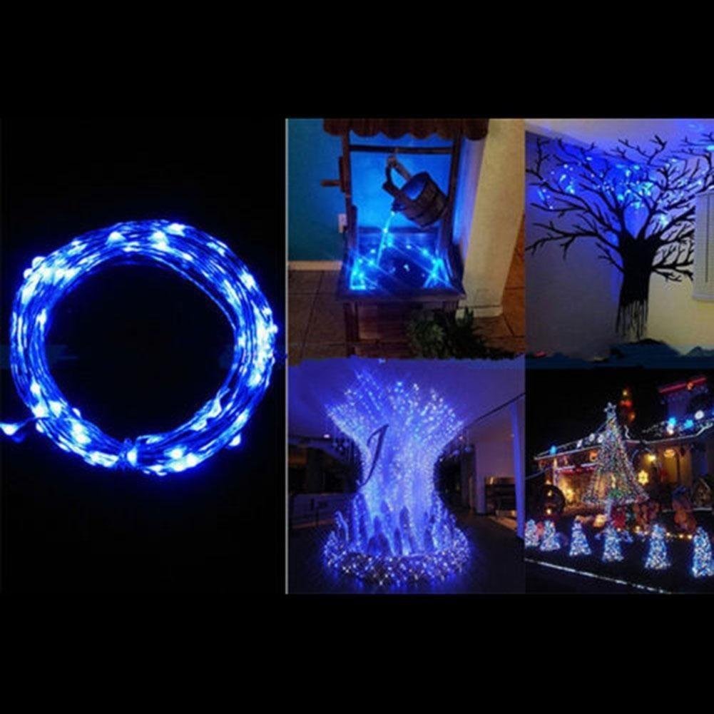 40LED 微線仙女燈聖誕派對LED 銅線燈串派對聖誕燈串裝飾聖誕節佈置用品LED 電池燈