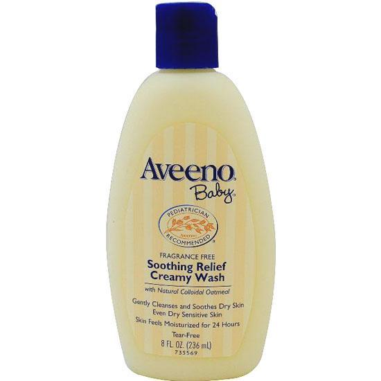 ~少奶奶 ~Aveeno Baby 天然燕麥寶寶系列~24 小時舒緩保濕沐浴乳無香~