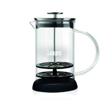 北國的店 在台BIALETTI 耐熱玻璃手動奶泡壺手打奶泡壺1L 1000ML BRIKK
