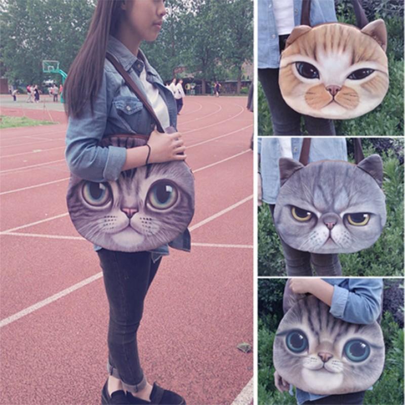 新 女用動物頭單肩包包