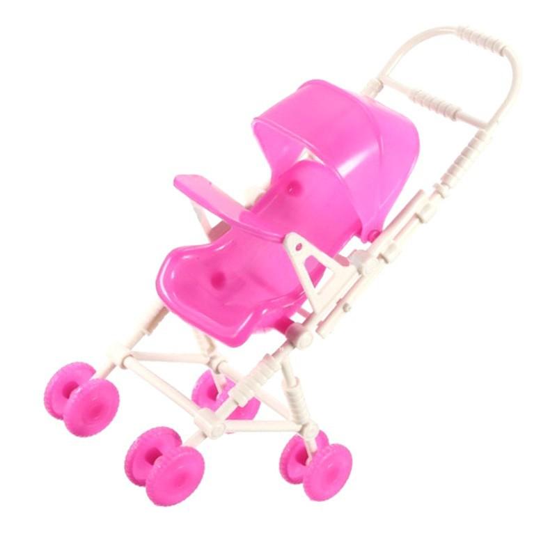 迷你芭比娃娃嬰兒推車馬車DIY 組裝