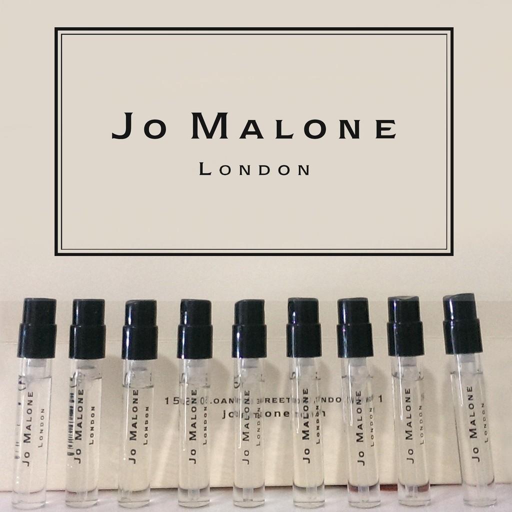 香味齊全Jo Malone 噴頭1 5ml 試管香水針管香水試管香藍風鈴英國梨杏桃花