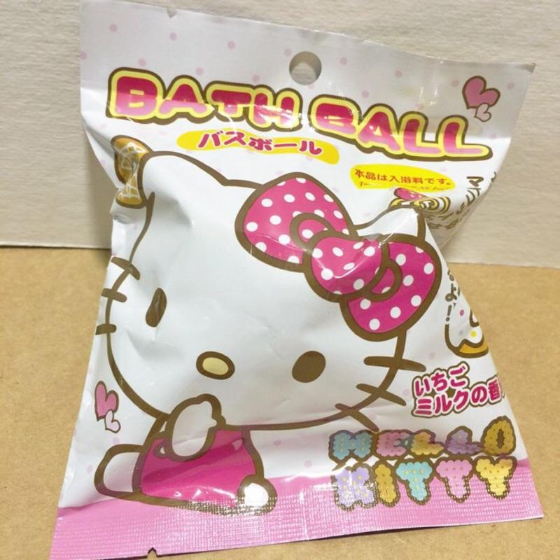 ~Amigo Gift 朋友 ~ Sanrio Hello Kitty 沐浴沐泡澡球內有小