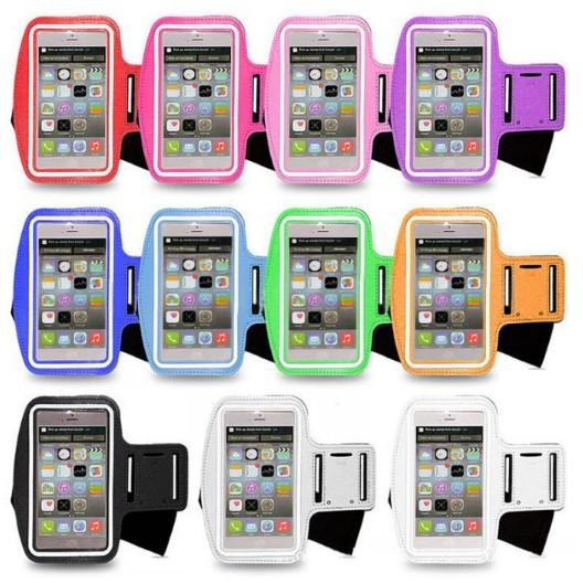 夜跑晨跑戶外 手機臂帶保護套 跑步健身手臂包手機收納袋6 吋、5 吋 蘋果iphone6
