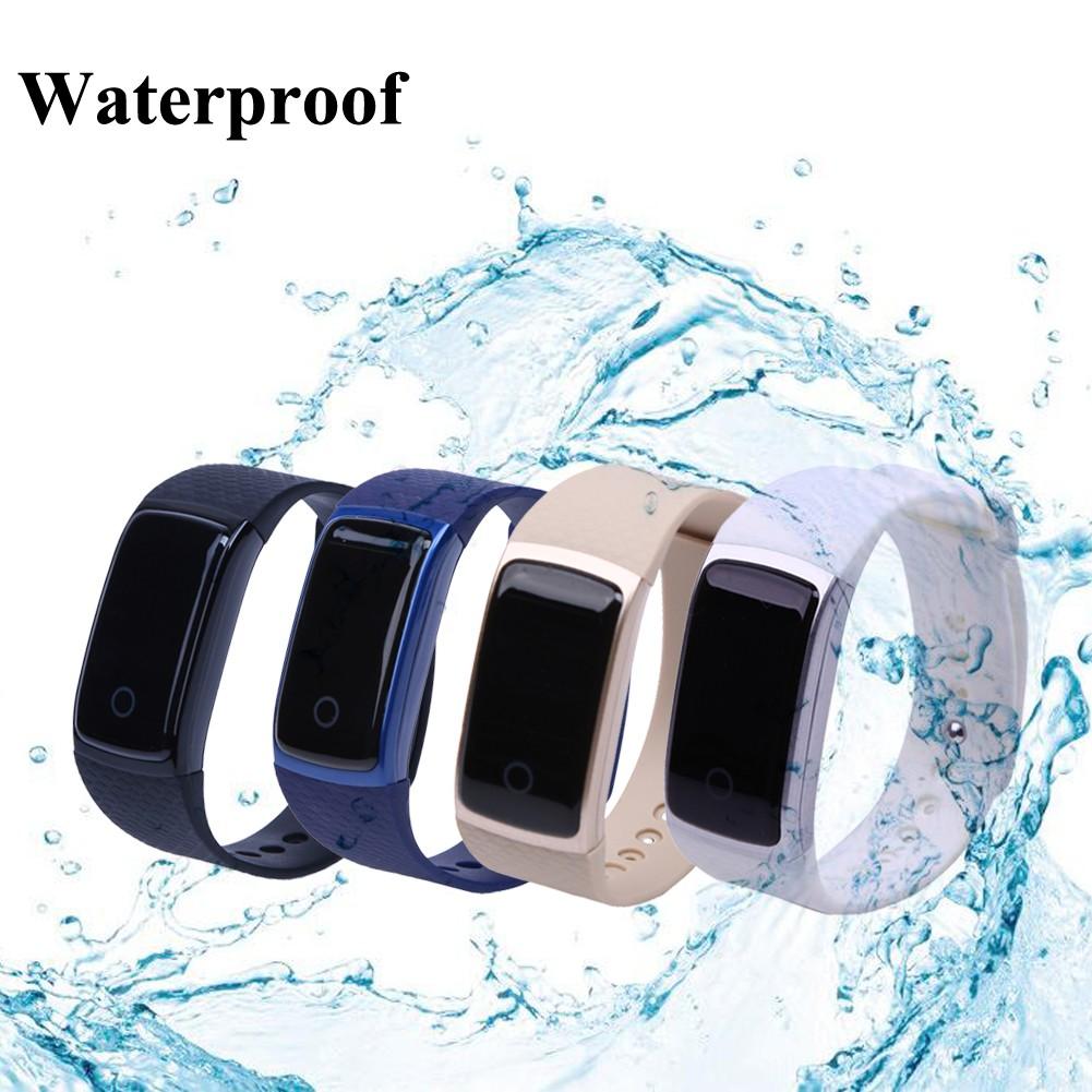 A09 智慧手環動態心率血氧血壓疲勞度監測IP67 級防水錶帶可換