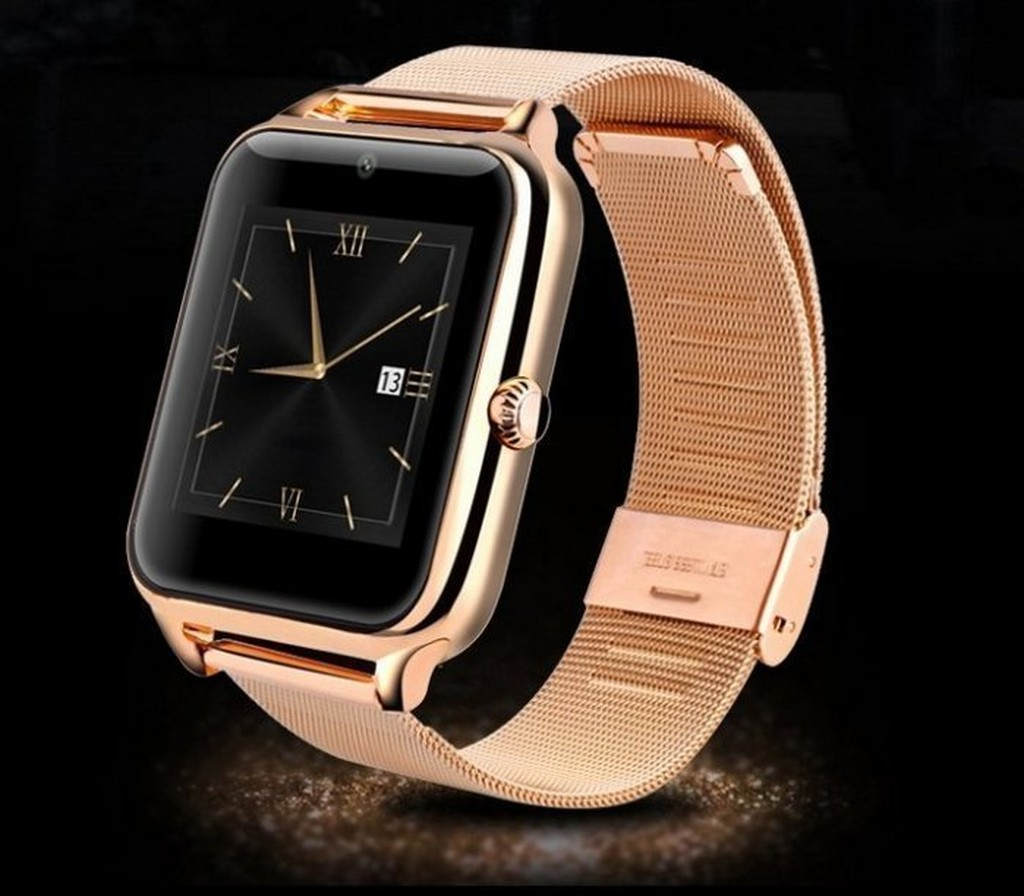 Z50 智慧手錶全金屬手錶可插卡藍牙手錶QQ 微信健康監測觸摸屏智慧型電話手錶863