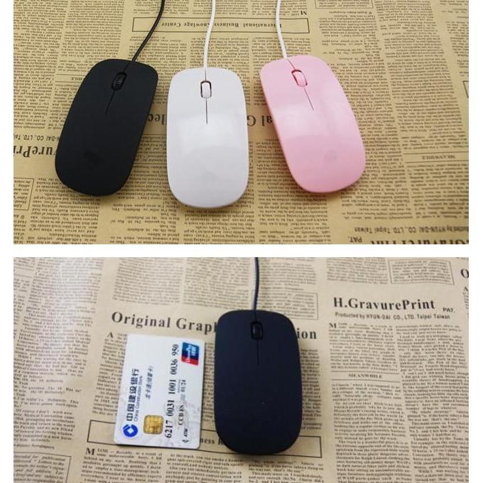 超薄 筆記本臺式電腦 USB 有線光電有線鼠標