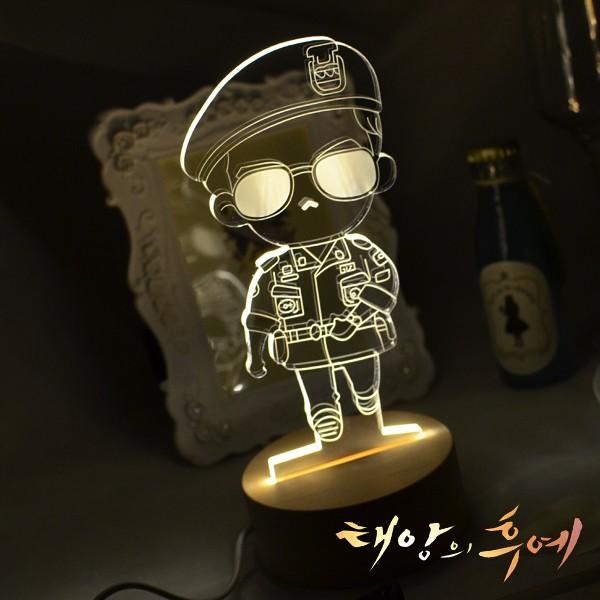 RA Design 3D LED 小夜燈美國 師宋仲基~ 1280 元~迪士尼太陽的後裔韓