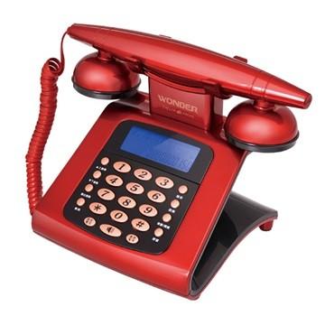 旺德WONDER WT 05 仿古來電顯示電話機