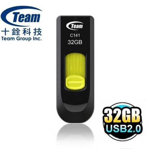 含稅附發票Team 十銓32G 32GB C141 USB2 0 隨身碟