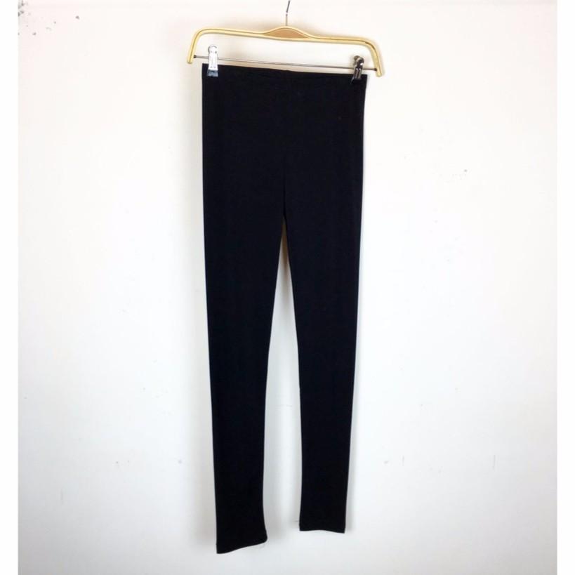 換季 5 折 290 ,2016 春夏,韓國製KOREA 平口涼感萊卡棉內搭褲黑( 實拍)