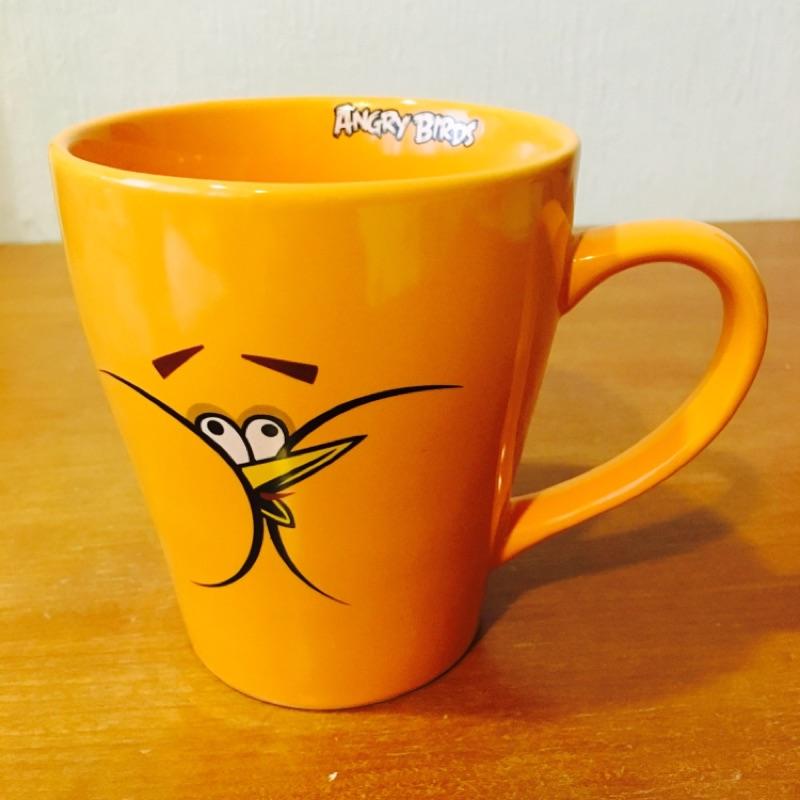 憤怒鳥馬克杯(橘鳥)