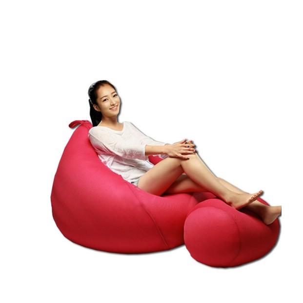 水滴梨型 可愛懶人沙發懶骨頭豆袋成人款書房臥室地板沙發