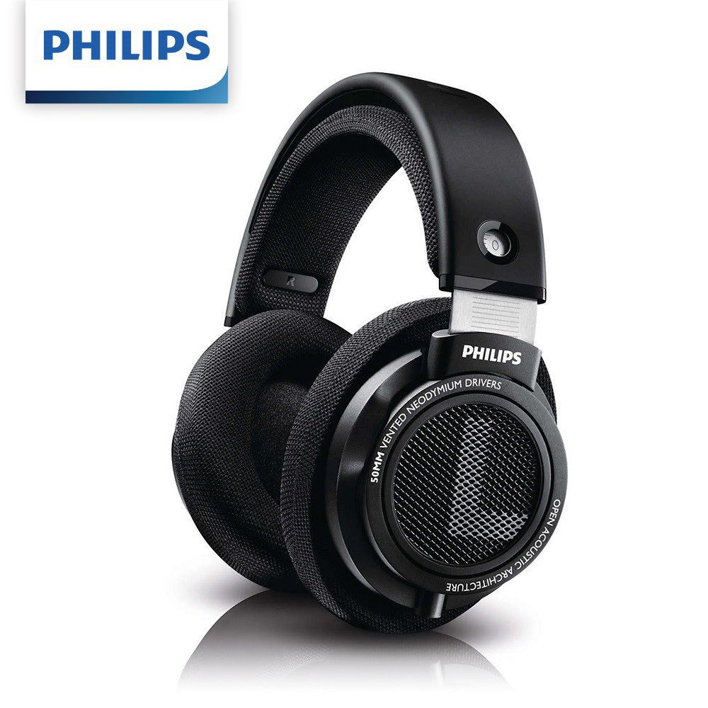 【PHILIPS】飛利浦 SHP9500 HiFi立體聲 耳罩式耳機 [富廉網]