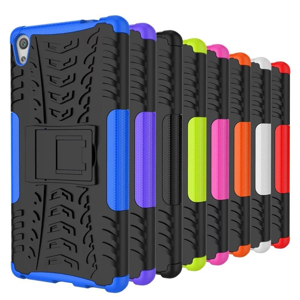 索尼Xperia XA Ultera C6 炫彩紋手機殼C6 6 0 寸支架防摔保護套