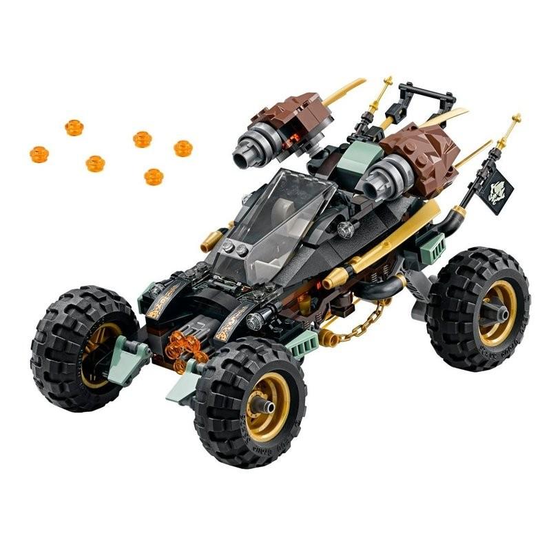 ~Q Brick ~樂高LEGO 70589 岩石衝鋒越野戰車無人偶~Ninjago 忍者