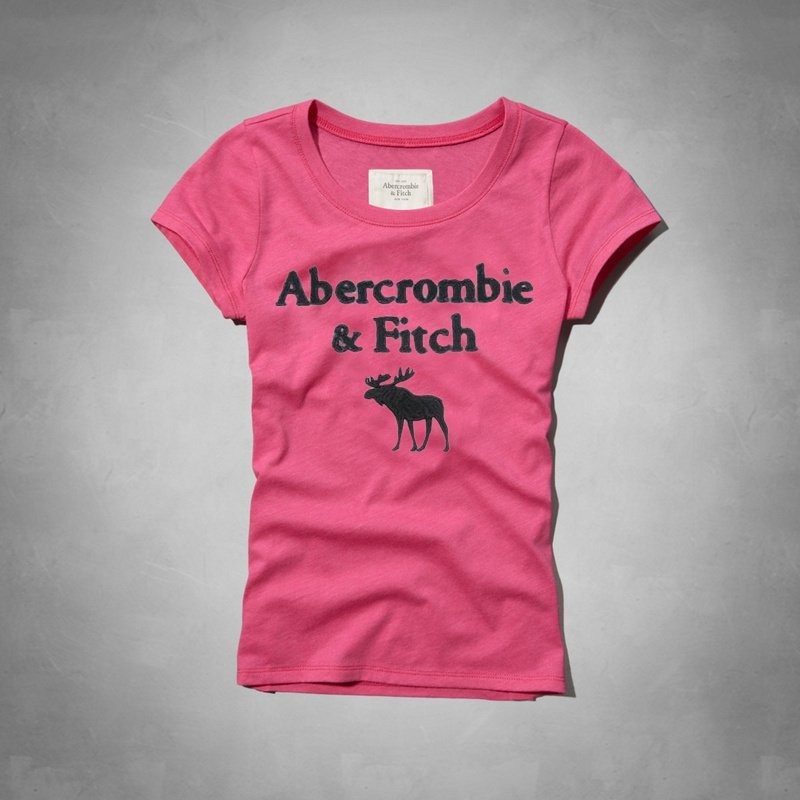 Haru Abercrombie fitch outlet A F AF 正品 女生短袖大