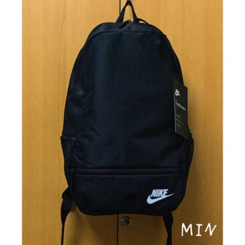 Nike 小logo 後背包黑色NSW classic north backpack BA