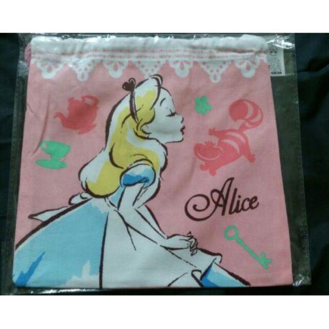 迪士尼公主系列美女與野獸貝兒灰姑娘仙度瑞拉愛麗絲小美人魚收納萬用袋化妝包束口袋