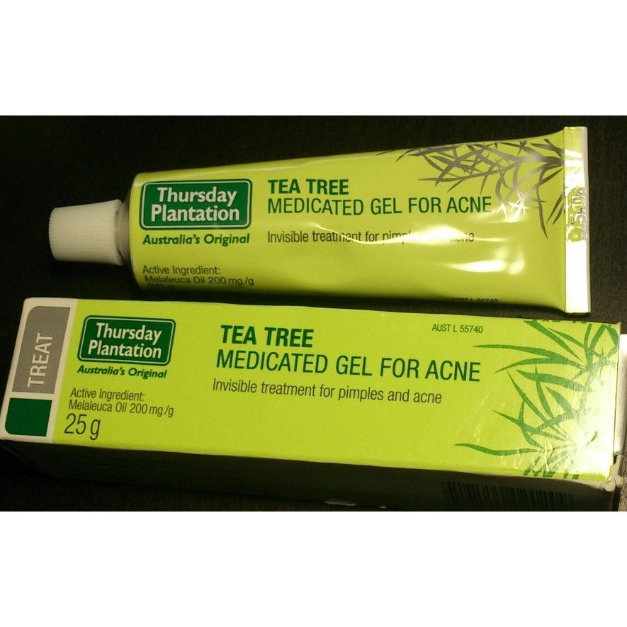 澳洲茶樹痘痘修護調理凝膠25g_Thursday Plantation Medicated