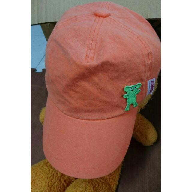 Why and 1 2 橘色棒球帽童帽